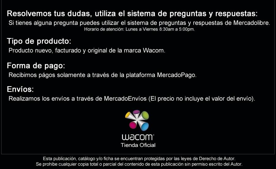 Tienda Oficial de la marca Wacom en Colombia